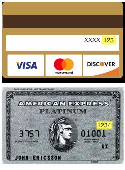 card security sample - Cvs Visa Gift Card